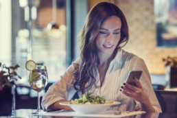 How a more emotional customer experience can transform loyalty - woman having lunch