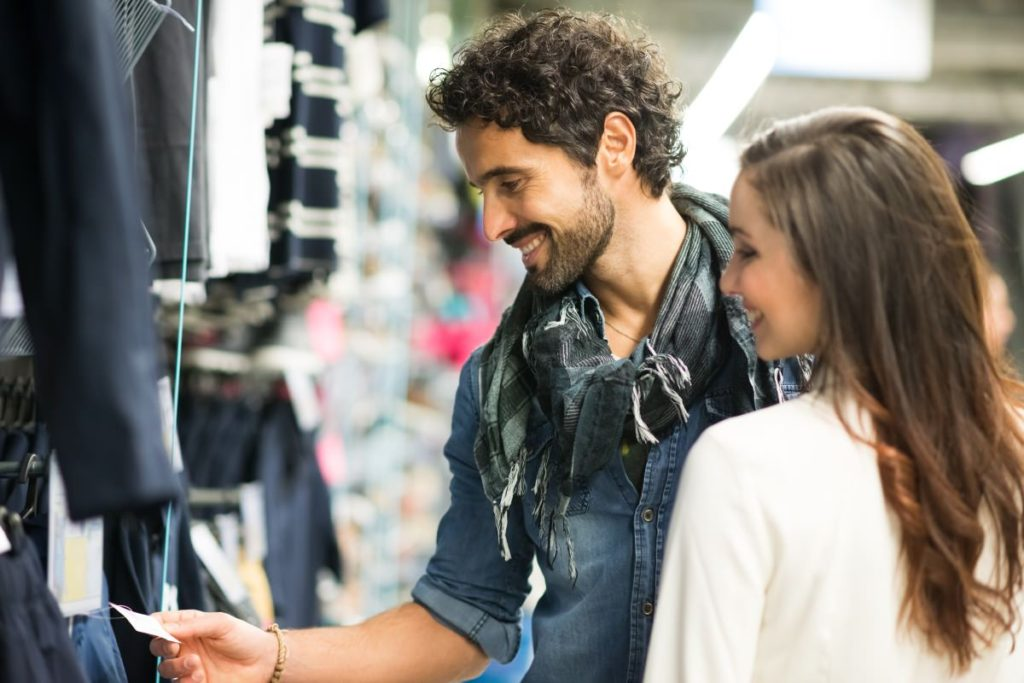 How a more emotional customer experience can transform loyalty - a couple shopping